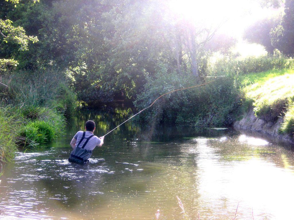 La pêche à danilovo du domaine de Moscou