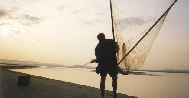Pêche du Saumon en Baie du Mont Saint Michel