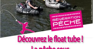 Animation Pêche au lancer en float-tube