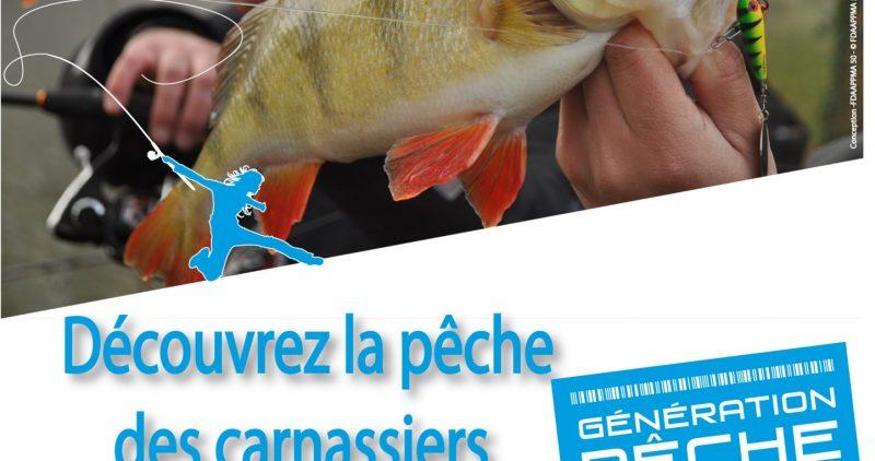 Découvrez la pêche des carnassiers!