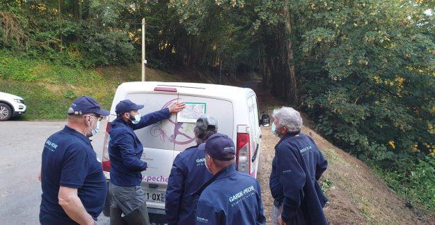 Opération police de la pêche sur la Sée et la Sélune.